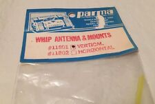 Parma International Vintage RC Whip Antenna & Mounts 11801 Vertical