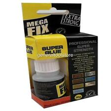 EXTRA STRONG SUPER GLUE. PROFESSIONAL STRENGTH FOR WOOD METAL PLASTIC ETC