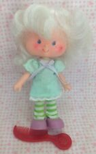 Vintage Strawberry Shortcake Doll Angel Cake Shoes Comb Dress Tights