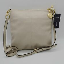 #H846 Tommy Hilfiger TH Signature Pebble Leather Crossbody $98