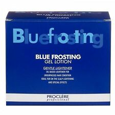 PROCLERE BLUE FROSTING GEL LOTION 1 X 50ML 4 X 13G BLUE FROSTING BOOSTERS
