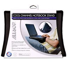 Portable Laptop Notebook Cooling Support Rest Stand Pad - Black-36.2cm