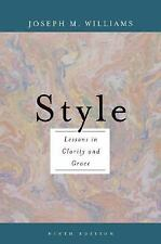 Style: Lessons in Clarity and Grace 9th Edition