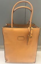 NEW Tumi 40th 1975 Anniversary Leather Day Tote Travel Luggage Bag #55061