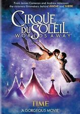 CIRQUE DU SOLEIL WORLDS AWAY (DVD, 2013) NEW