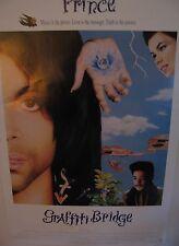 "Vintage ""Prince"" Graffiti Bridge 1990 Original Video Poster  27 x 40"