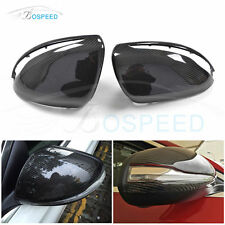 Carbon Fiber Replacement Mirror Covers for Benz W205 W222 2014-2017 Without LED