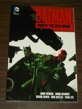 Batman Under The Red Hood by Judd Winick (Paperback, 2011) NEW 9781401231453