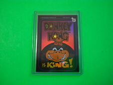 """2013 TOPPS 75TH ANNIVERSARY 1982 """"DONKEY KONG"""" PARALLEL RAINBOW FOIL CARD #81"""