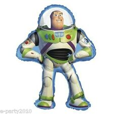 TOY STORY BUZZ LIGHTYEAR SUPERSHAPE BALLOON ~ Foil Mylar Birthday Party Supplies