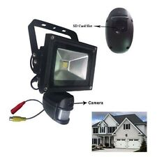 New PIR Security Floodlight & Hd Cctv Camera Dvr Video Recorder Motion Detection
