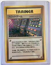 *BANNED* Pokemon TRAINER - SLOT MACHINE Neo Genesis JAPANESE NonHOLO Rare MINT