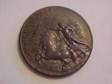 1897 ROMAN BRAVO CO REMATE SAN MARTIN BUENOS AIRES OLD BRONZE COIN TOKEN MEDAL
