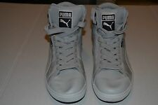 MENS' PUMA FIRST ROUND S MIX GLACIER GRAY SIZE 12 FASHION SNEAKERS (PRE-OWNED)!!