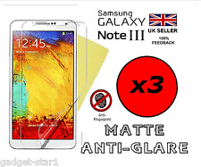 3x HQ MATTE ANTI GLARE SCREEN PROTECTOR COVER SAMSUNG GALAXY NOTE 3 III N9000