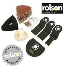 ROLSON 27pc Oscillating Multi Tool Accessory Pack Fits Fein Makita  Bosch   DA45