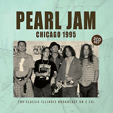 PEARL JAM New Sealed 2016 UNRELEASED LIVE 1995 CHICAGO CONCERT 2 CD SET