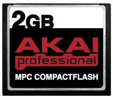 Akai CompactFlash Memory Storage 2GB CF for MPC1000 MPC500 MPC5000 MPC2000