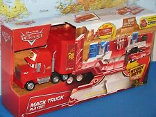 DISNEY PIXAR CARS MACK TRUCK PLAY SET ***BRAND NEW & VHTF***