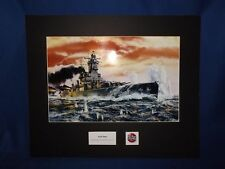 Airfix Original Artwork Cibachrome Print The German Cruiser Admiral Graf Spee