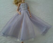Genuine Barbie Purple Reversible Gown Magic of Pegasus Princess Dress with Shoes