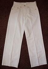 LUCKY BRAND - COW-GIRLS DREAM CREAM-TWILL FLARED JEANS - MISSES 27/4
