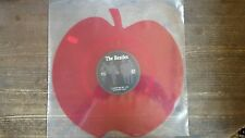 BEATLES - LOVE ME DO - RED APPLE SHAPED VINYL LIMITED EDITION - NEW