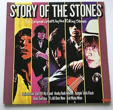 2LPS. THE STORY OF THE ROLLING STONES 1982   NE 1201 COVER EX