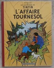Tintin L'affaire Tournesol EO B20 1956 TBE Hergé