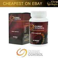 CLIMAX CONTROL 60 Pills Premature Ejaculation ORGASM DELAY 100% NATURAL