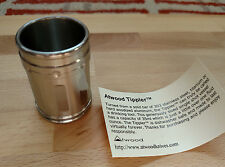 Peter Atwood EDC Tool - New Metal Shot Glass DotShot Dot Shot Tippler