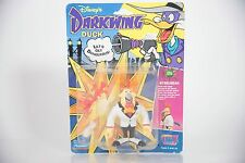 vintage DARKWING DUCK STEELBEAK figure DISNEY PLAYMATES TOYS 90s 1991 brand new