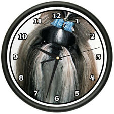 SHIH TZU Wall Clock dog doggie pet breed gift