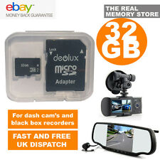 BEST 32GB Class10 Memory Card for NextBase Cobra Garmin Dash Cam In Car Camera