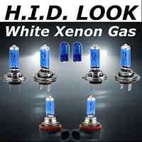 H7 H7 H11 501 55w White Xenon HID Look High Low Fog Beam Headlight Bulb Pack