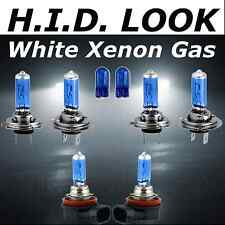 H7 H7 H11 501 55w White Xenon HID Look High Low Fog Beam Headlight Bulb Pack