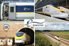 SOUVENIR FRIDGE MAGNET of THE EUROSTAR TRAIN