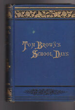 Tom Brown's School Days 1885 T Hughes MacMillan & Co