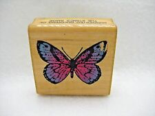 Vintage Butterfly by Comotion Rubber Stamp 1982 #153
