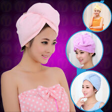 new quick-drying microfiber hair towel wrapped turban for  free shipping