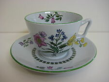 "Spode England fine Stone W150 ""Summer Palce"" Cup & Saucer Set"