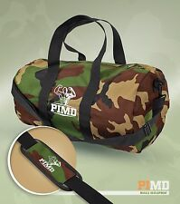 PIMD HOLDALL - Camo / Black - MENS GYM SPORT HOLDALL DUFFLE TRAVEL WEEKEND BAG