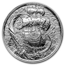 2~OZ ~ PURE .999 SILVER ROUND ~ THE   KRAKEN ~ ULTRA HIGH RELIEF ~ $58.88 ~ SALE