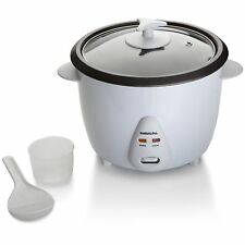 1.8 LITRE NON STICK 700 WATT RICE COOKER WHITE