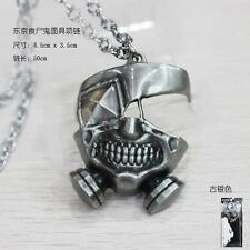 Japan Anime Tokyo Ghoul Metal Mask Necklace Pendant chains #12