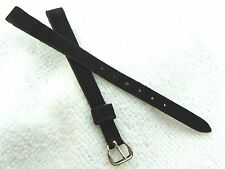 """LADIES WATCH BAND,8mm Brite 60's,NOS """"USA Corfam"""" LEATHER,New Old Stock,B8-02"""