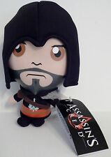 "EZIO LEGENDARY ASSASSIN EBONY (BLACK) Assassin's Creed 6"" inch Soft Plush 2013"