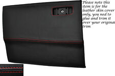 RED STITCH GLOVE BOX LID LEATHER SKIN COVER FITS TOYOTA SUPRA MK3 1986-1993