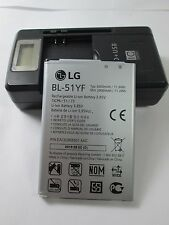 OEM 3000 mAh original LG G4 battery genuine BL-51YF  with battery charger
