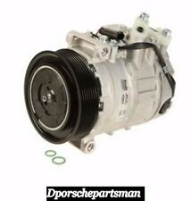 Porsche Panamera A/C Compressor With Clutch   NISSENS    NEW #NS